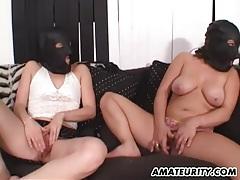 Amateur girlfriend double penetration with facial tubes