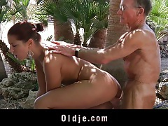 An old man fuck my girlfriend! tubes