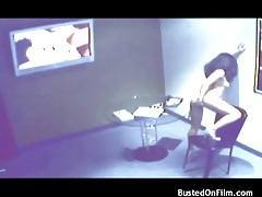 Girl masturbates to porn in voyeur video clip tubes