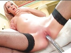 Sexy oiled up titties on hot girl fucking a dildo tubes