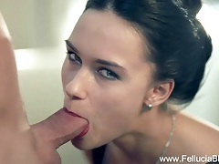 Romantic brunette milf fellatio tubes