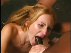 10 cumshots in the mouth of swallowing slut tubes