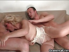 Mature is flexible in hardcore threesome video tubes