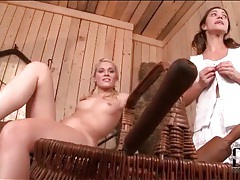 Anal and pussy toy sex with two hot chicks tubes