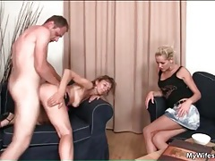 Blonde watches her husband fuck mother in law tubes