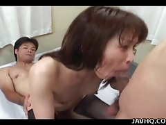 Limber japanese girl in stockings fucked hardcore tubes