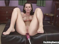 Busty pornstar brandi edwards ass fucked by toy tubes
