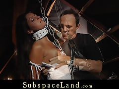Nasty slave, tamed with a lesson of terror in bdsm tubes
