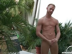 Rock hard body on redhead masturbating outdoors tubes