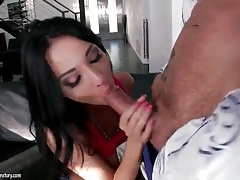 Hot blowjob from arousing pornstar anissa kate tubes