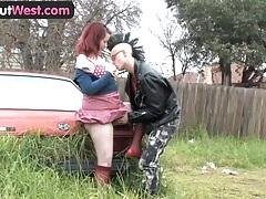 Girls out west - amateur australian punk couple having sex tubes
