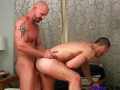 Fucked by a bald guy and loving every inch tubes