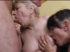 Girl eats mature pussy as she gets fucked tubes