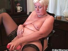 British grannies exposing their lickable fannies tubes