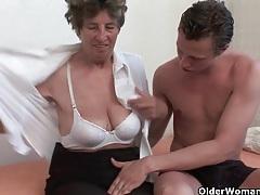 Grandma will drain your balls tubes