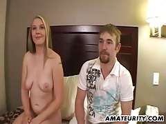 Very hot blonde amateur girlfriend in action tubes