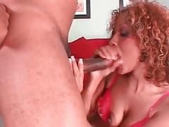 Black girl sloppily sucks his big black cock tubes