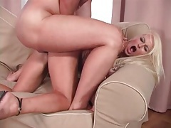 Bleach blonde is beautiful in a hot fuck video tubes