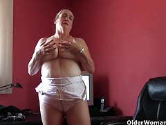 This happens when grandma's knickers and pantyhose come down tubes