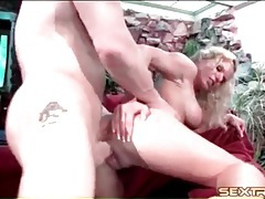 Big tits blonde is a cock riding ass slut tubes