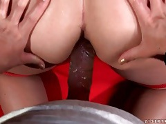 Pov lesbian strapon sex from behind tubes
