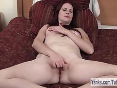 Sexy redhead sophia masturbating her twat tubes