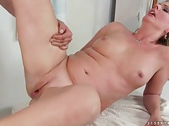 Lusty sex with curvy mature blonde babe tubes