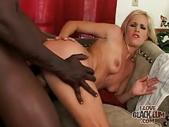 Trashy milf slut fucked by big black cock tubes