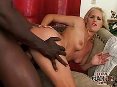 Trashy milf slut fucked by big black cock tubes
