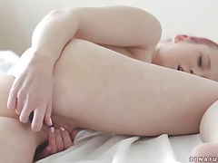 Erotic solo dildo sex with redheaded girl tubes