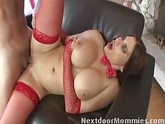 Big breasted mature santa slut fucked tubes