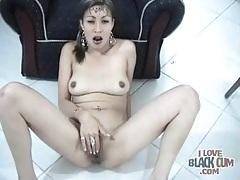 Passionate fuck and a close up cumshot facial tubes