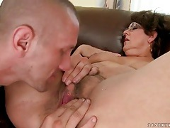 Hairy mature pussy fucked by a stiff dick tubes