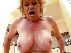Big dick fucks granny slut from behind tubes