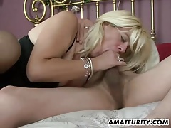 Naughty amateur milf homemade action with creampie tubes