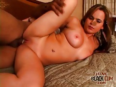 Black cock fucks that hot cunt meat doggystyle tubes