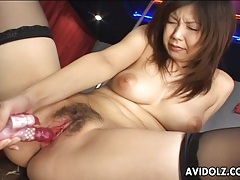 Asian busty stripper horny and wet tubes