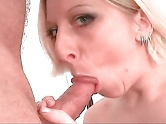 Perky pierced tits girl gives a sexy blowjob tubes