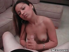 Vigorous blowjob and titjob from a sexy slut tubes