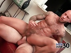 Bald head hottie with tattoos ass fucked tubes
