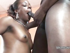 Black housewife anastasia is swallowing some dick tubes