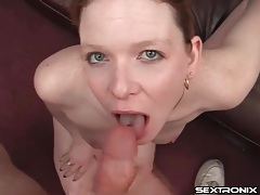 Pierced tongue slut is a naughty cocksucker tubes