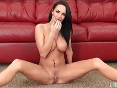 High heels are sexy on dildo fucking alektra blue tubes