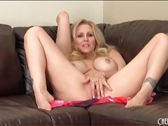 Milf julia ann strips nude and sensually masturbates tubes