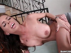 Dude eats out ass and cunt of brandy aniston tubes