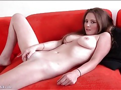 Cute girl sam summers strips and masturbates tubes