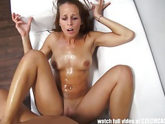Passionate redhead gets hard fuck with happy ending tubes
