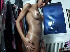 Pinko shemales fucking a guy up the ass tubes