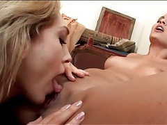 Lily labeau eats the pussy of eve angel tubes