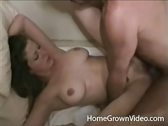 Cute brunette with nice natural tits is a fuck slut tubes